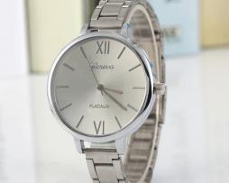 Reloj Metalico Mini Plateado - relojes mujer