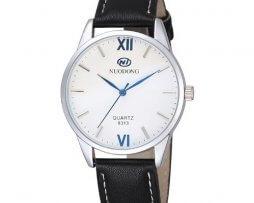 reloj-hombre-cuero-fondo-blanco-simple-design-negro