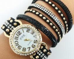 reloj-rinestone-negro-dorado-estilo-3