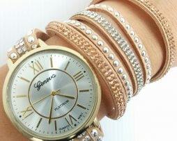 reloj-rinestone-numeros-romanos-beige