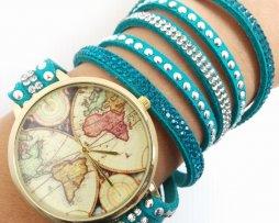 reloj-rinestone-verde-mapa-mundi