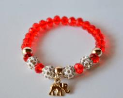 pulsera-shamballa-rojo-elefante