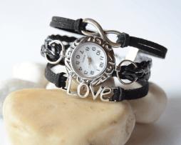 reloj-ininito-love-negro-estilo-2