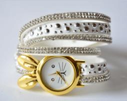 reloj-rinestone-conejo-blanco
