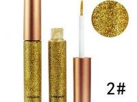 Delineador Ojos Liquido Glitter Numero 2 - maquillaje
