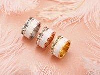 Anillo Rinestone Diseño Elegante- anillos mujer