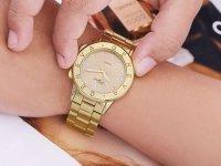 Reloj Numeros Romanos Dorado - relojes mujer