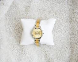 Reloj Metalico Dorado Q&Q Original Diseño 7 - relojes mujer
