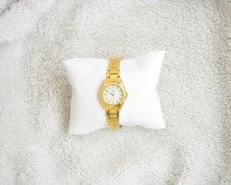 Reloj Metalico Dorado Q&Q Original Diseño 9 - relojes mujer
