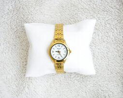 Reloj Metalico Dorado Salco Original Diseño 2 - relojes mujer