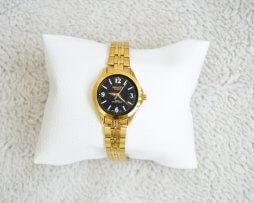 Reloj Metalico Dorado Salco Original Diseño 3 - relojes mujer