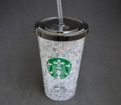 Vaso Acrilico Unisex Diseño Starbucks - vasos de moda