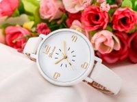 Reloj Mini Correa Blanco Simple - relojes mujer