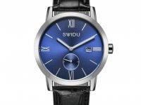 Reloj Hombre Calendario Romano Azul - relojes hombre