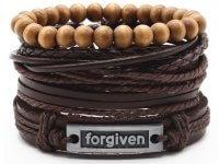 Set Pulseras para Hombre Forgiven - pulseras hombre