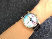 Reloj Cuero Paris Negro - relojes mujer