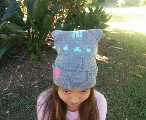 Gorro de Lana Kitty Gris - gorros moda