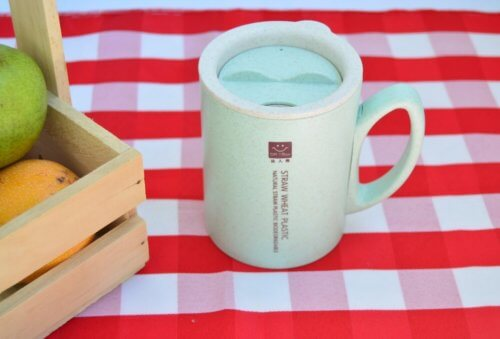 Vaso Biodegradable Menta - vasos moda