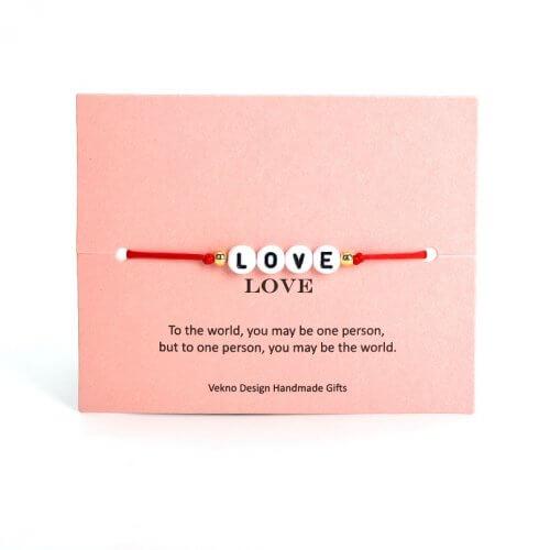 Pulsera Unisex Hilo Roja Love - pulseras unisex