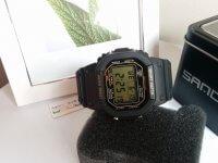 Reloj Digital Hombre Negro Verde - relojes hombre