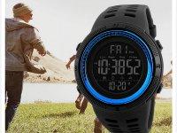 Reloj Digital Hombre Skmei Negro Azul - relojes hombre
