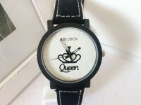 OUTLET Reloj Mujer Mini Queen Negro - relojes mujer