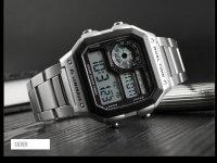 Reloj Hombre Skmei Retro Digital Plateado - relojes hombre
