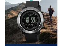 Reloj Hombre Skmei Negro Pedometro - reloj digital hombre