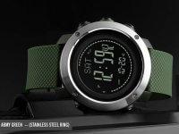 Reloj Hombre Skmei Verde Pedometro - relojes hombre