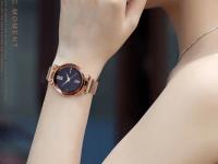 Reloj Mujer Cafe Malla Iman - relojes mujer