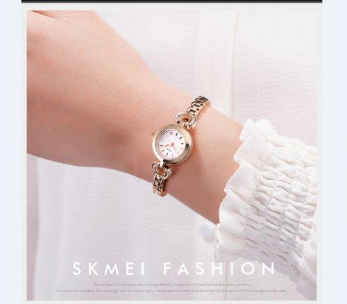 Reloj Mujer Corazon Rosado Skmei - relojes mujer