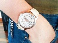 Reloj Mujer Cuero Notas Blanco Hueso - relojes mujer