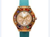 Reloj Mujer Piedra Multicolor Azul - reloj mujer