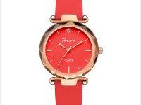 Reloj Mujer Silicona Diamond Rojo - relojes mujer