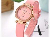 Reloj Mujer Silicona Diamond Rosado - relojes mujer