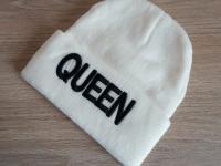 Gorro de Lana Beige Mujer Queen - gorros mujer