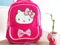 Morral Hello Kitty Fucsia - bolsos niña