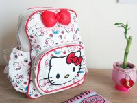Morral Estampado Hello Kitty - morral niña