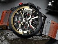 Reloj Curren Cronografo 8329 Cafe Miel - relojes hombre