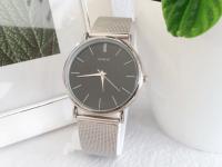 Reloj Hombre Malla Plateado - relojes hombre