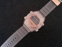 Reloj Mujer Transparente Deportivo Rosa - relojes mujer