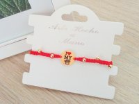 Pulsera Tejida Rey o Reina Roja - pulseras de moda