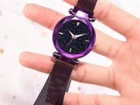 Reloj Mujer Morado Malla Iman Sky - relojes mujer