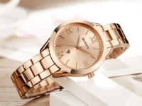 Reloj Mujer Curren Acero Rosado Fecha - relojes curren