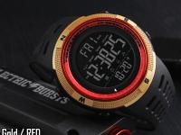 Reloj Digital Hombre Skmei Rojo Gold - reloj digital skmei